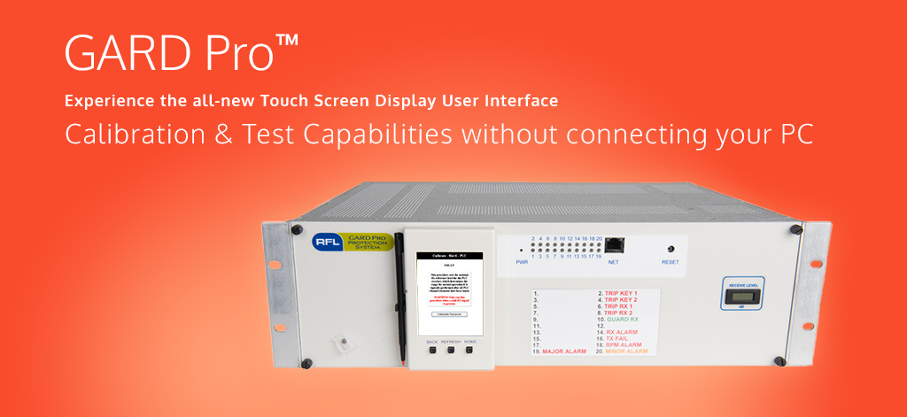 GARD Pro™ - Experience the all-new Touch Screen Display User Interface